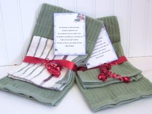 Dish Cloth and Towel Gift