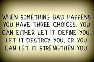 3 choices Saying