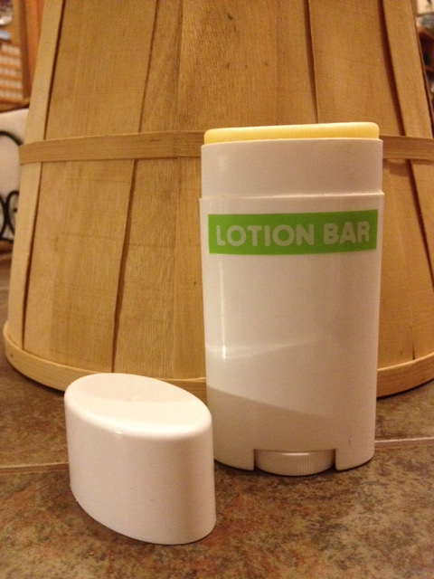 Homemade Lotion Bar Container